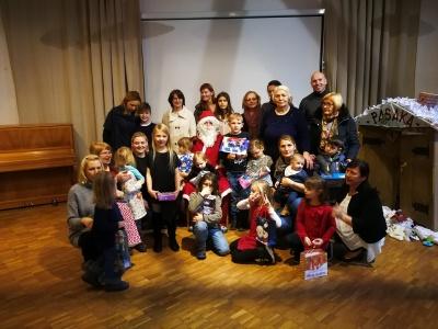Kalėdų Senelis aplankė jaunuosius akademikus