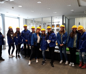 Interdisziplinäre Werksbesichtigung bei der BASF in Ludwigshafen