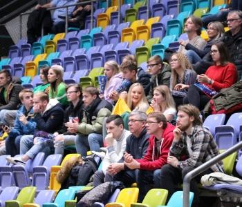 Gimnazistai krepšinio rungtynėse Frankfurte