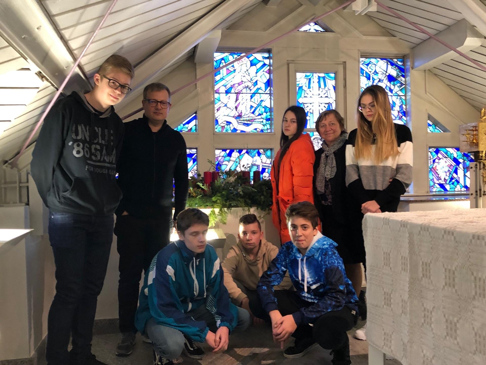 Adventas Vasario 16-osios gimnazijoje, 2018