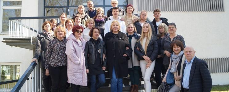 Sozialpädagogen und Psychologen aus Litauen sammeln Erfahrungen in Deutschland