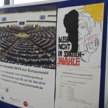 Wir haben gewählt! – Juniorwahl zur Europäischen Union (Foto: Dr. G. Hoffmann)