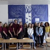 Apsilankymas Liuksemburgo Europos mokykloje (Foto: J. Gečas)