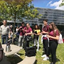 Apsilankymas Liuksemburgo Europos mokykloje (Foto: A. Ručienė)