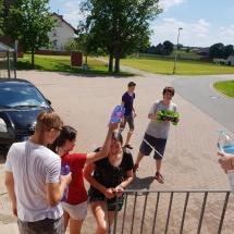 Katalikiško jaunimo grupės stovykla Odenvalde (Foto: D. Kriščiūnienė)