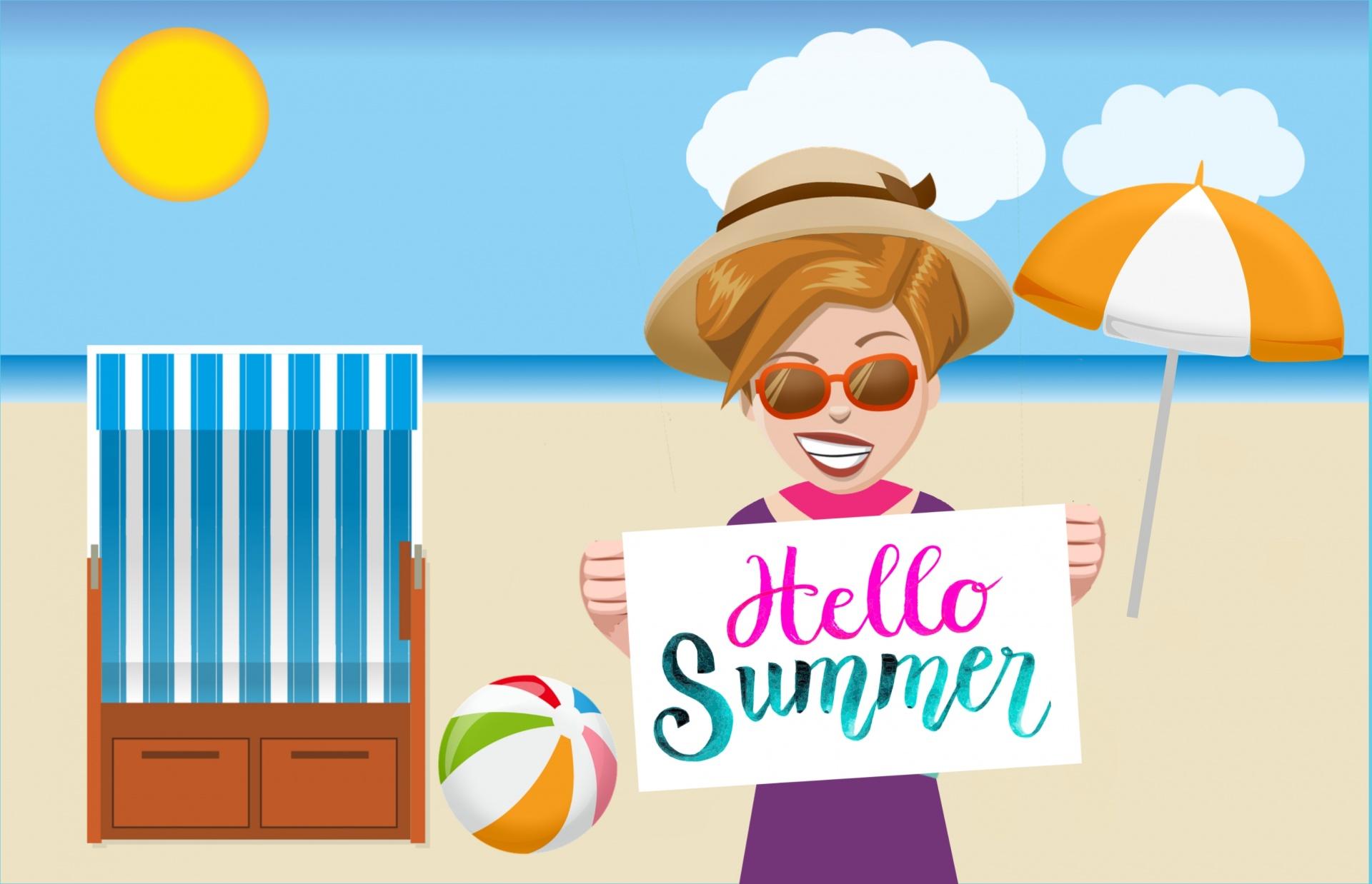 Gerų vasaros atostogų! Schöne Sommer Ferien!