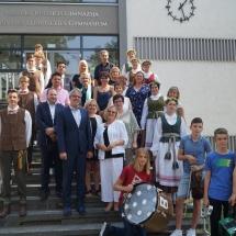 Bergštrasės apskritis remia Vasario 16-osios gimnaziją (Foto: M.D.Schmidt)