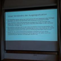 """Präsentationsworkshop – """"… und dann heißt es üben, üben, üben!"""" (Foto: Dr. G. Hoffmann)"""
