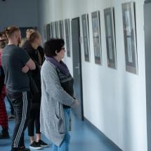 Grafikos darbų parodos atidarymas (Foto: J. Gečas)