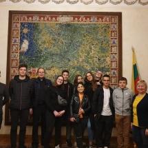 Lankomės Vatikano radijo redakcijoje ir Popiežiškojoje lietuvių šv. Kazimiero kolegijoje (Foto: D. Kriščiūnienė)