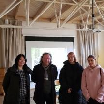 Susitikimas su režisieriumi Arvydu Barysu (Foto: I. Sattler)