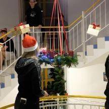 Kalėdų bendrabutyje belaukiant... (Foto: E. Jankūnas ir Frederikas)