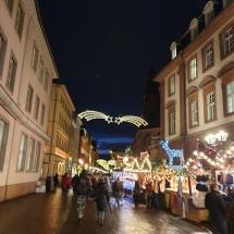 Heidelbergo kalėdinis miestelis (Foto: D. Kriščiūnienė)