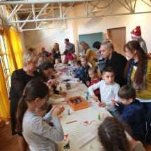 Kalėdų šventė šeštadieninėje mokykloje (Foto: D. Kriščiūnienė)
