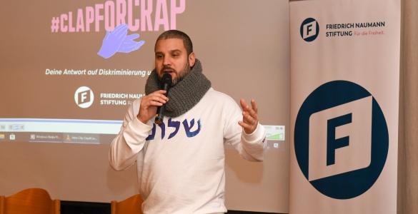 Treffen mit dem Rapper Ben Salomo