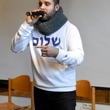 Susitikimas su garsiu reperiu Ben Salomo (Foto: Justinas G.)