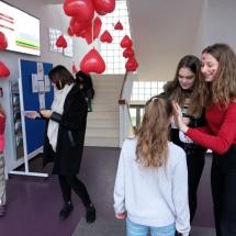 Valentinas aplankė gimnaziją (Foto: Frederikas N., Nojus B., E. Jankūnas)
