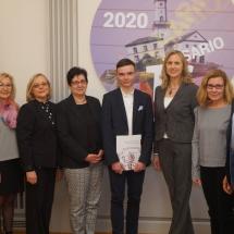 Švenčiame Lietuvos valstybės atkūrimo dieną ir gimnazijos jubiliejų (Foto: M. D. Schmidt)