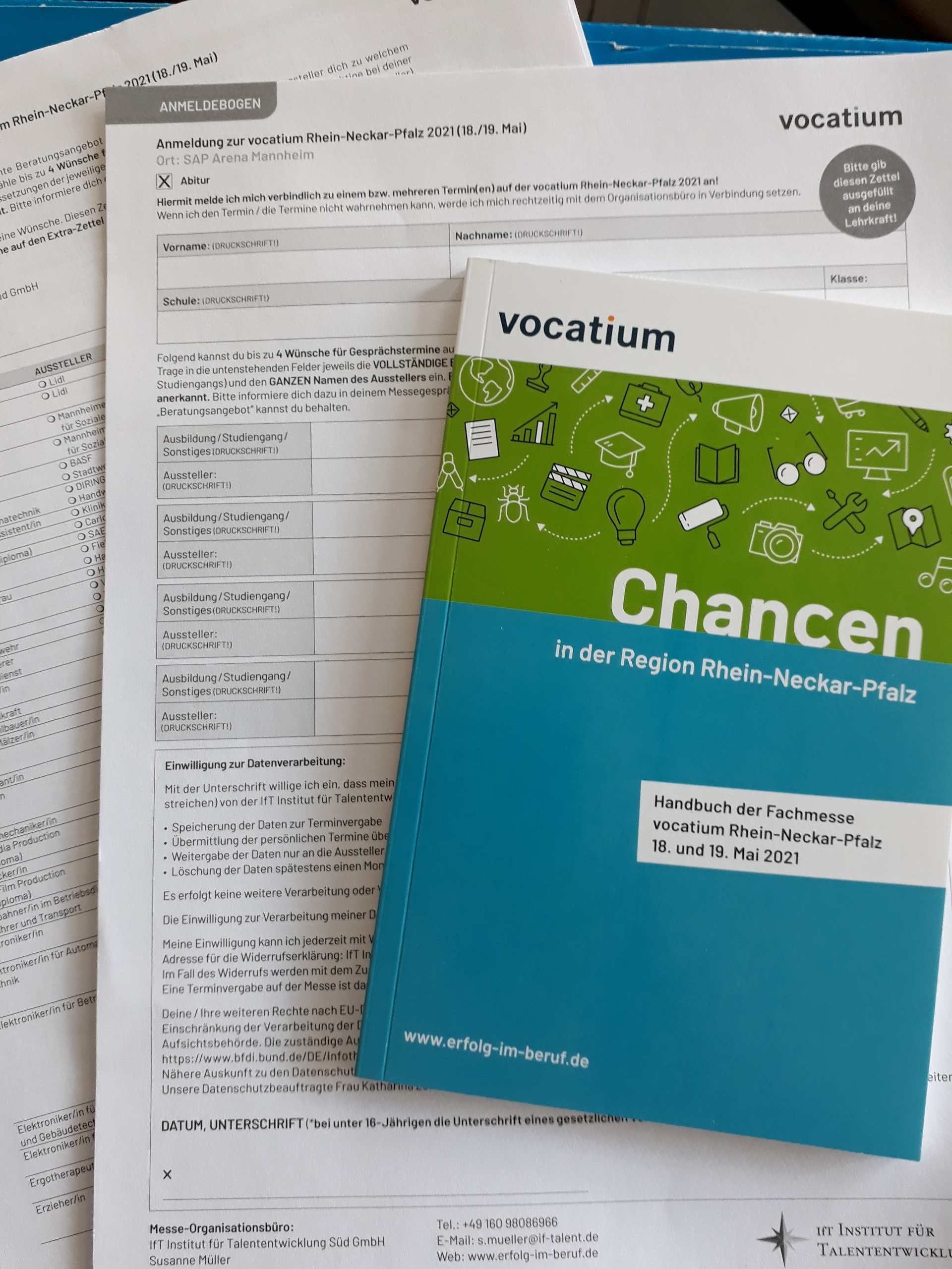 Vocatium 2021 – Ein Date mit dem zukünftigen Arbeitgeber vereinbaren