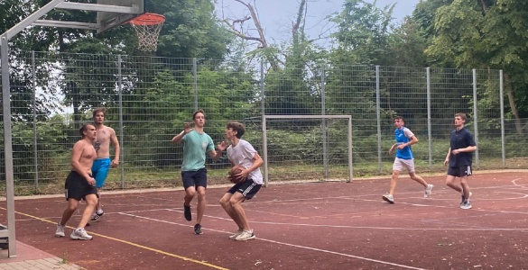 Bendrabučio mokinių krepšinio šventė
