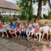 Paskutinė mokslo metų pamoka gimnazijos šeštadieninėje mokykloje (Foto: D. Kriščiūnienė)