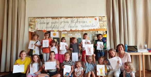 Eröffnung der Samstagsschule im Schuljahr 2021/2022 am litauischen Gymnasium